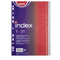 Разделител Noki PVC 1-31
