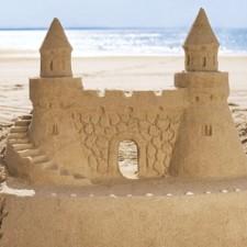 Как да си направим пясъчен замък в 6 лесни стъпки