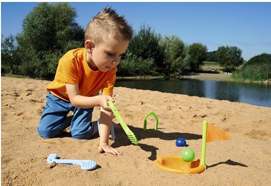 Плажен голф - детски плажни играчки