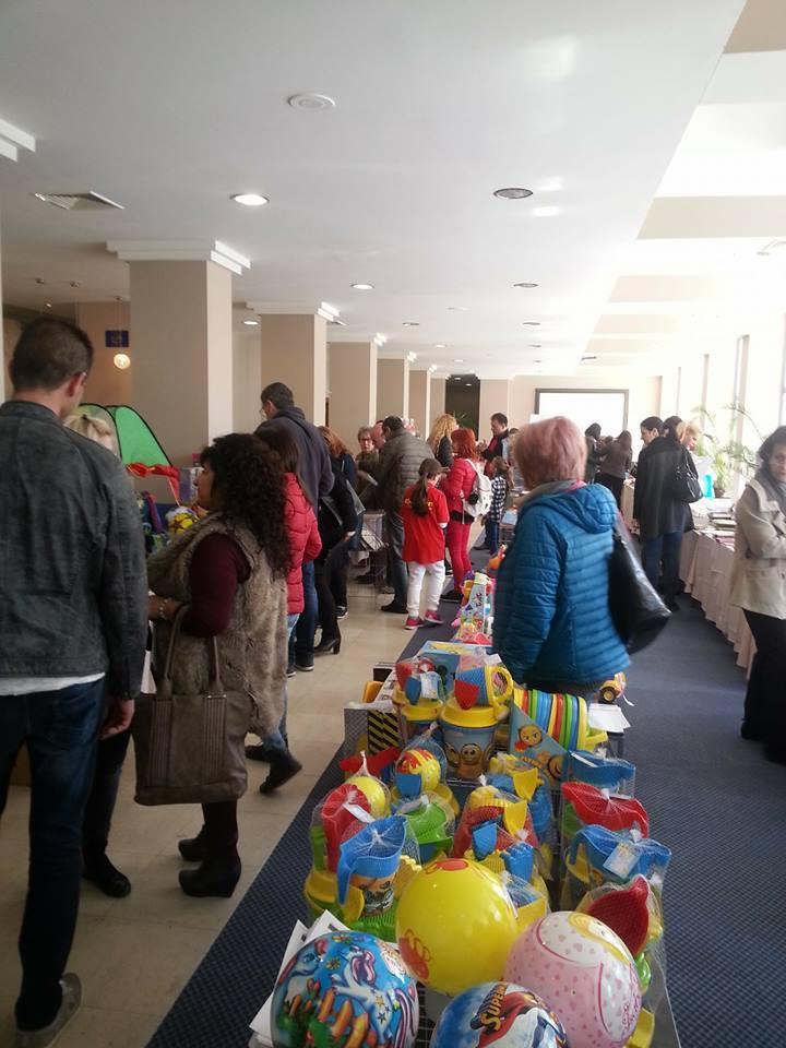 Презентация на акварел 2017 - раници, детски играчки, канцеларски материали